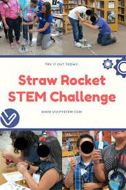 Water Challenge Motion Straw Rocket Stem Challenge Forces Motion Variables