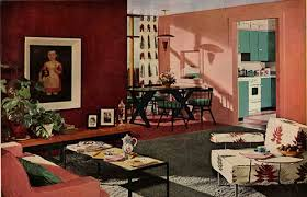 retro home interiors 1950s interior design and decorating style 7 major trends retro