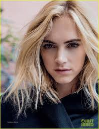 harmons hair stayles ncis ncis emily wickersham poses in sexy lingerie for da man full