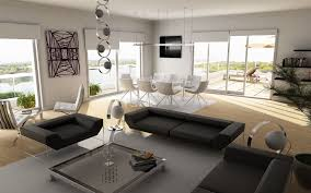 incridible contemporary living room curtain interior design on