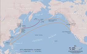 Dutch Harbor Alaska Map by World War Ii Aleut Relocation Camps In Southeast Alaska