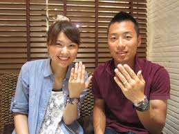 japanese wedding ring from mokumeganeya customer mokumeganeya vip wedding band and