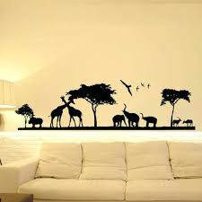 Jungle Nursery Wall Decor Safari Nursery Wall Decor View In Gallery Jungle Baby Room Wall