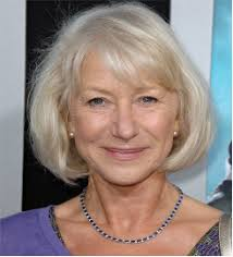 hair style for 70 year old helen mirren is 70 years old with a medium staright casual
