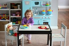 Ikea Toddler Table by Strawberry Swing And Other Things Crafty Lady Another