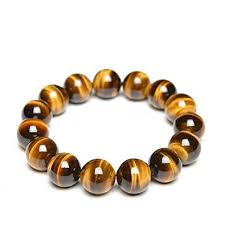 amazon com gemstones bracelet genuine tiger eye semi