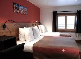 hotel chambre bedrooms les gets hotel la grande ère