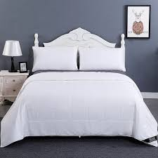 Silk Filled Duvet Review Washable Cotton Covered Silk Comforter