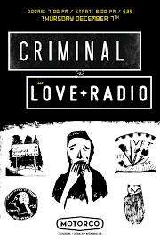 criminal u0026 love radio u2013 tickets u2013 motorco music hall u2013 durham