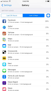 7 Apps To Help Organize Your Life by How To Improve Battery Life On Your Iphone In Ios 11 Ios