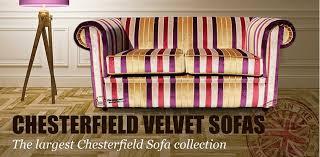 velvet chesterfield sofa uk shop at designer sofas 4u