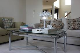 coffee table amazing silver tray table mirrored tray table