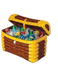 inflatable treasure chest cooler walmart com