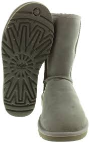 ugg boots australia discount ugg sheepskin boots in grey in grey