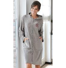 robe de chambre capuche robe de chambre polaire capuche femme
