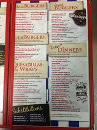 menu at white bull 5105 51 st restaurant prices