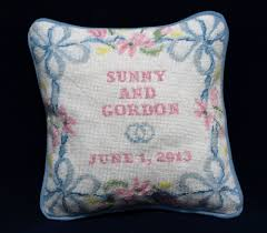 Pillow Designs by Ring Bearer Pillow Needlepoint Kits And Canvas Designs