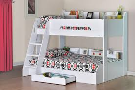 Tri Bunk Beds Uk 3 Sleeper Bunk Beds Latitudebrowser Wooden Bunk Bed White