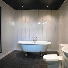 Upvc Bathroom Ceiling White Sparkle Bathroom Cladding Direct