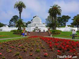 San Francisco Flower Garden by Conservatory Of Flowers San Francisco California Travel To Eat
