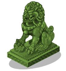 jade lion statue image jade lion statue 3 png here be monsters wiki fandom