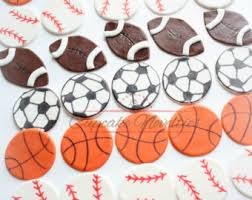 sports cake toppers sports theme party etsy