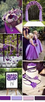 2016 wedding color ideas gorgeous purple wedding color palettes