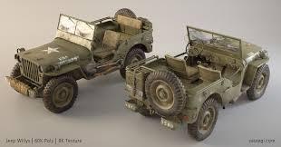 willys jeep artstation willys jeep rudolf herstek