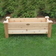 shop wood planters at lowes com