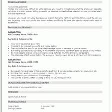 Knockout Manager Resume Template Free by Resume Template Uk Resume Template Uk Curriculum Vitae Download