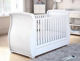Sleigh Cot Bed Babymore Bel Sleigh Dropside Convertible Cot Bed U0026 Reviews