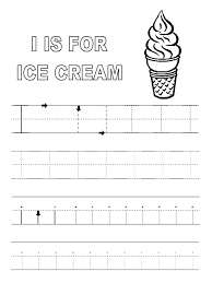 letter i worksheets for preschool kindergarten printable