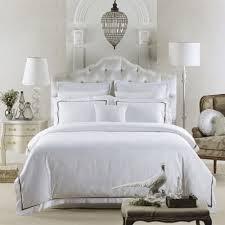 online get cheap cotton hotel plain white bedding aliexpress com