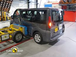 nissan van 12 passenger van based passenger vehicles fall short on stars from euro ncap