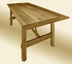 custom farm table stauffer woodworking