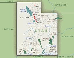 america map utah utah america map
