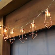 metal string lights gold warm white leds battery