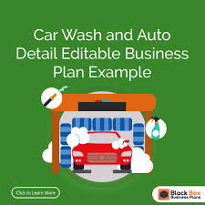 car wash business plan template templates automatic cmerge