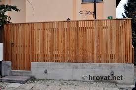 mizarstvo hrovat wooden fence ograja vizmarje http www