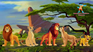 lion king finger family nursery rhymes cheetah cartoon tiger