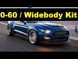 mustang v8 0 60 2017 ford mustang shelby snake widebody kit concept gt500