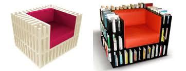 Unique Bookshelf The Bibliochaise This U201cbook Chair U201d Simply Integrates A Series Of