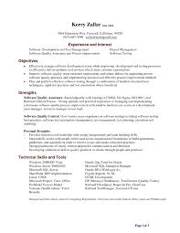Manual Testing 1 Year Experience Resume Sample Resume For Software Tester Fresher Resume Sample