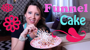 how to make funnel cake youtube