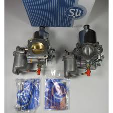 su carburettors pair of hs6 genuine new su carburettors for a