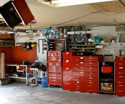 garage tool workbench bench decoration