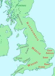 Essex England Map by Anglo Saxon And British Kingdoms C 800 Interactive Map