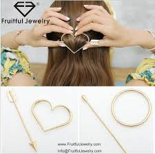 korean metal hairpin headdress korean hair accessories wholesale