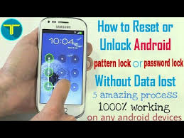 android pattern tricks how to unlock or reset pattern or password lock without any data