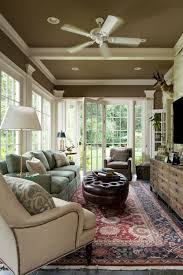 nice rich color on the ceiling and the little bit above the